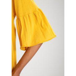 Bluzki asymetryczne: American Vintage LANDWAY Bluzka z długim rękawem vintage tawny