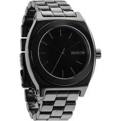 Zegarki damskie: Zegarek damski Black Nixon Time Teller Ceramic A2501000
