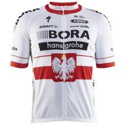 Odzież rowerowa męska: Craft Koszulka rowerowa Bora-Hansgrohe Replica biała r. L (2430)