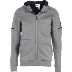 Bluzy męskie: adidas Performance TAN Bluza rozpinana medium grey heather