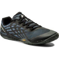 Buty MERRELL - Trail Glove 4 J15899 Space Black. Czarne buty do biegania męskie Merrell, z materiału. W wyprzedaży za 259,00 zł.