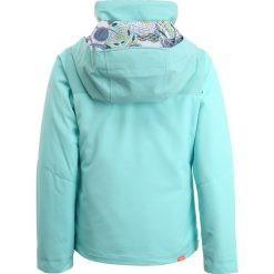 Roxy JETTY  Kurtka snowboardowa aruba blue. Niebieskie kurtki dziewczęce sportowe Roxy, z materiału, narciarskie. W wyprzedaży za 377,10 zł.