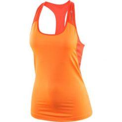 KOSZULKA REEBOK WORKOUT READY AJ3451. Pomarańczowe bluzki asymetryczne Reebok. Za 49,00 zł.
