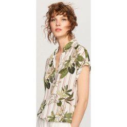 Koszula we wzory - Wielobarwn. Szare koszule damskie Reserved. W wyprzedaży za 39,99 zł.