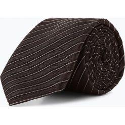 BOSS - Krawat jedwabny męski – Tie 6 cm, szary. Szare krawaty męskie Boss, z jedwabiu, biznesowe. Za 349,95 zł.