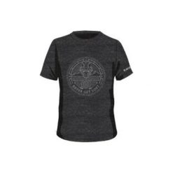 Hi-tec Koszulka Męska Canid Dark Grey Melange r. 2XL. Szare koszulki sportowe męskie marki Hi-tec, m. Za 35,24 zł.