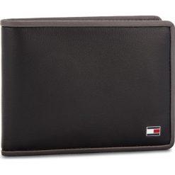 Duży Portfel Męski TOMMY HILFIGER - Th Binding Mini CCW AM0AM03654 901. Czarne portfele męskie marki TOMMY HILFIGER, ze skóry. Za 229,00 zł.