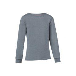 Bluza 100 Gym. Szare bluzy dziewczęce rozpinane marki DOMYOS, z elastanu, z kapturem. Za 19,99 zł.