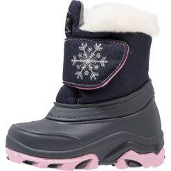 Friboo Śniegowce dark blue. Czerwone buty zimowe damskie marki Friboo, z materiału. W wyprzedaży za 126,75 zł.