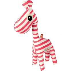 Przytulanka Done by deer żyrafa różowa. Czerwone przytulanki i maskotki marki Done by Deer, z bawełny. Za 135,00 zł.