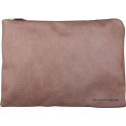 """Torby na laptopa: Skórzana torba """"Woodward"""" w kolorze szarobrązowym na laptop – 38 x 27,5 x 1 cm"""