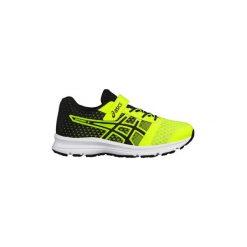 Buty do biegania Dziecko Asics  PATRIOT 9 PS C807N. Żółte buty sportowe chłopięce marki Asics. Za 208,45 zł.
