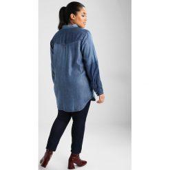 Koszule wiązane damskie: Zizzi ZMIRIAM Koszula blue