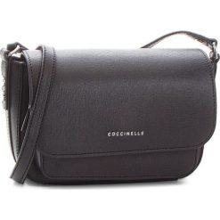 Torebka COCCINELLE - CG0 Organisee E1 CG0 15 01 01 Noir 001. Czarne listonoszki damskie Coccinelle, ze skóry. W wyprzedaży za 729,00 zł.