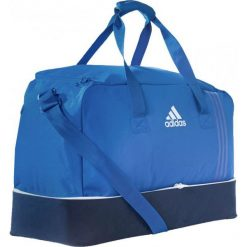 Torby podróżne: Adidas Torba Tiro 17 Team Bag L z dolną komorą niebieska (BS4755)