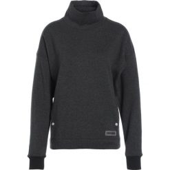 Bluzy polarowe: Under Armour FUNNEL NECK Bluza z polaru black light heather