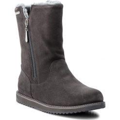 Buty EMU AUSTRALIA - Gravelly W11561 Charcoal. Szare buty zimowe damskie marki EMU Australia, ze skóry, na niskim obcasie. Za 809,00 zł.