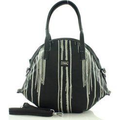 Oryginalna torebka damska czarna. Szare shopper bag damskie marki Pakamera, do ręki, matowe. Za 90,00 zł.