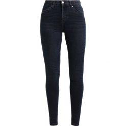 Topshop Tall JAMIE Jeans Skinny Fit blue black. Niebieskie rurki damskie Topshop Tall. Za 229,00 zł.