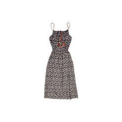 Sukienki balowe: Sukienka damska klasyczna we wzory