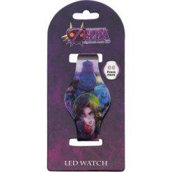 The Legend Of Zelda Link LED Watch Zegarek na rękę wielokolorowy. Szare zegarki damskie The Legend Of Zelda, sztuczne. Za 42,90 zł.