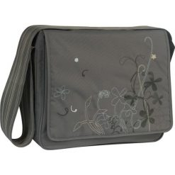 """Torebki klasyczne damskie: Torba """"Messenger Bag"""" w kolorze ciemnoszarym na akcesoria do przewijania – 36,5 x 31 x 14 cm"""