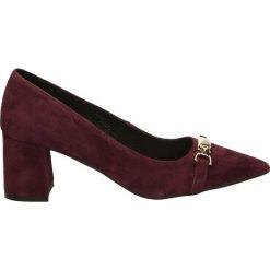 Czółenka - 2642 CAM BO24. Brązowe buty ślubne damskie Venezia, ze skóry. Za 239,00 zł.