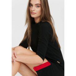 Czarna Sukienka Really Me. Czarne sukienki hiszpanki other, l, mini, oversize. Za 59,99 zł.