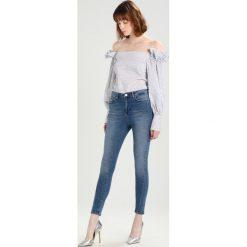 Jeansy damskie: Vero Moda VMFIE  Jeans Skinny Fit dark blue denim
