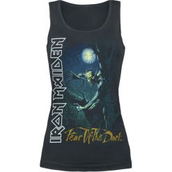 Iron Maiden Fear Of The Dark Top damski czarny. Czarne topy damskie Iron Maiden, s, z nadrukiem. Za 74,90 zł.