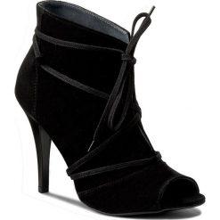 Botki SERGIO BARDI - Elisa FS127299817JR 201. Czarne buty zimowe damskie Sergio Bardi, ze skóry, z otwartym noskiem, na obcasie. W wyprzedaży za 169,00 zł.