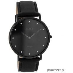 Zegarek OOZOO C7781 black. Czarne zegarki damskie marki KIPSTA, m, z elastanu, z długim rękawem, na fitness i siłownię. Za 289,00 zł.
