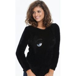 Swetry klasyczne damskie: Czarny Sweter Her Look
