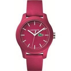 Zegarek unisex Lacoste L1212 2000957. Czerwone zegarki męskie marki Lacoste. Za 374,50 zł.