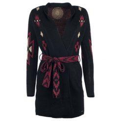 Desigual Sweter Damski Mali M, Czarny. Szare swetry klasyczne damskie marki Desigual, l, z tkaniny, casualowe, z długim rękawem. Za 599,00 zł.