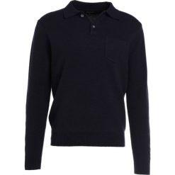 Swetry klasyczne męskie: J.CREW Sweter deep navy