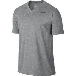 Nike Koszulka męska Legend 2.0 SS V-Neck Tee szara r. S (718839 091). Białe koszulki sportowe męskie marki Adidas, l, z jersey, do piłki nożnej. Za 75,00 zł.