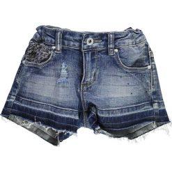 Brums - Szorty dziecięce 92-122 cm. Czarne szorty jeansowe damskie marki Mayoral, w paski, casualowe. W wyprzedaży za 159,90 zł.