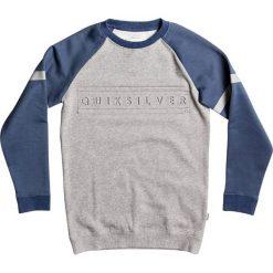 Quiksilver Bluza mottled light grey. Szare bluzy chłopięce marki Quiksilver, krótkie. W wyprzedaży za 132,30 zł.