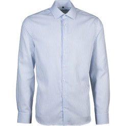 Koszule męskie na spinki: Koszula – Tailored – w kolorze biało-błękitnym
