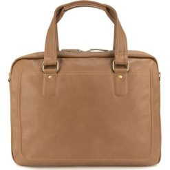 Torba na laptopa 84-4P-514-5. Brązowe torby na laptopa marki Wittchen, w paski, z materiału. Za 179,00 zł.