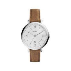 Fossil - Zegarek ES3708. Różowe zegarki damskie marki Fossil, szklane. Za 449,90 zł.