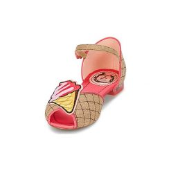 Sandały Miss L'Fire  GELATTO. Czerwone sandały trekkingowe damskie Miss L'Fire. Za 300,30 zł.