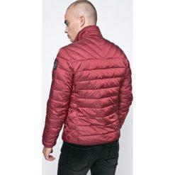Napapijri - Kurtka. Szare kurtki męskie pikowane marki Napapijri, l, z materiału, z kapturem. W wyprzedaży za 599,90 zł.