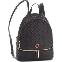 Plecak MONNARI - BAGA110-020 Czarny. Czarne plecaki damskie Monnari, ze skóry ekologicznej, klasyczne. W wyprzedaży za 199,00 zł.
