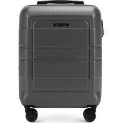 Walizka kabinowa 56-3H-541-00. Szare walizki marki Wittchen, z gumy, małe. Za 159,00 zł.