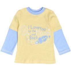 Garnamama Koszulka Chłopięca 86 Żółty. Żółte t-shirty chłopięce Garnamama, z bawełny. Za 42,00 zł.
