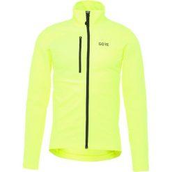Gore Wear THERMO  Kurtka z polaru neon yellow. Żółte kurtki trekkingowe męskie Gore Wear, m, z elastanu. Za 459,00 zł.