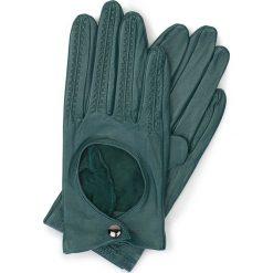 Rękawiczki damskie 46-6L-290-BG. Zielone rękawiczki damskie marki Wittchen. Za 99,00 zł.