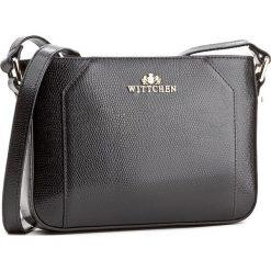 Torebka WITTCHEN - 85-4E-413-1 Czarny. Czarne listonoszki damskie Wittchen. W wyprzedaży za 279,00 zł.